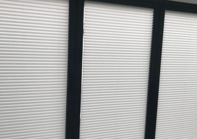Pleated Blinds For Bi-Fold Doors.