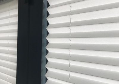 Pleated Blinds, No Drilling.